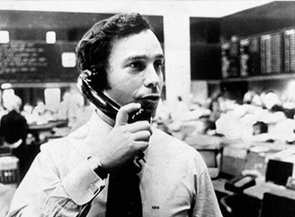 Young Mike Bloomberg