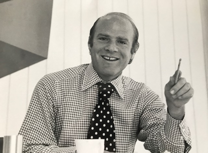 Young Barry Diller