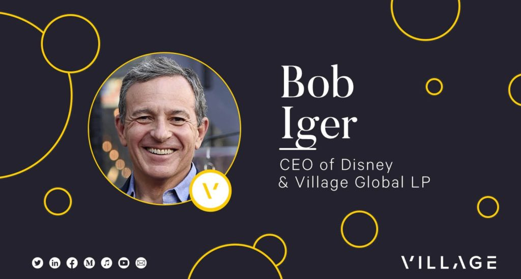 Lessons From Luminaries with Bob Iger, CEO of The Walt Disney Company